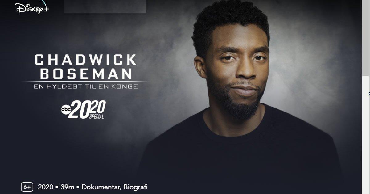 Chadwick Boseman: En hyldest til en konge - En særudgave af 20/20