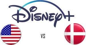 Photo of Her er forskellene mellem indhold på Disney+ i Danmark og USA