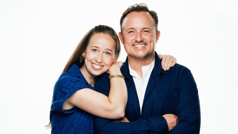 Merete Mærkedahl & Thomas Evers Poulsen Foto - Henrik Ohsten TV 2