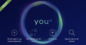 YouTV Test - anmeldelse af YouSee's nye tv streaming tilbud
