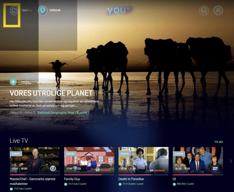 YouTV Udforsk