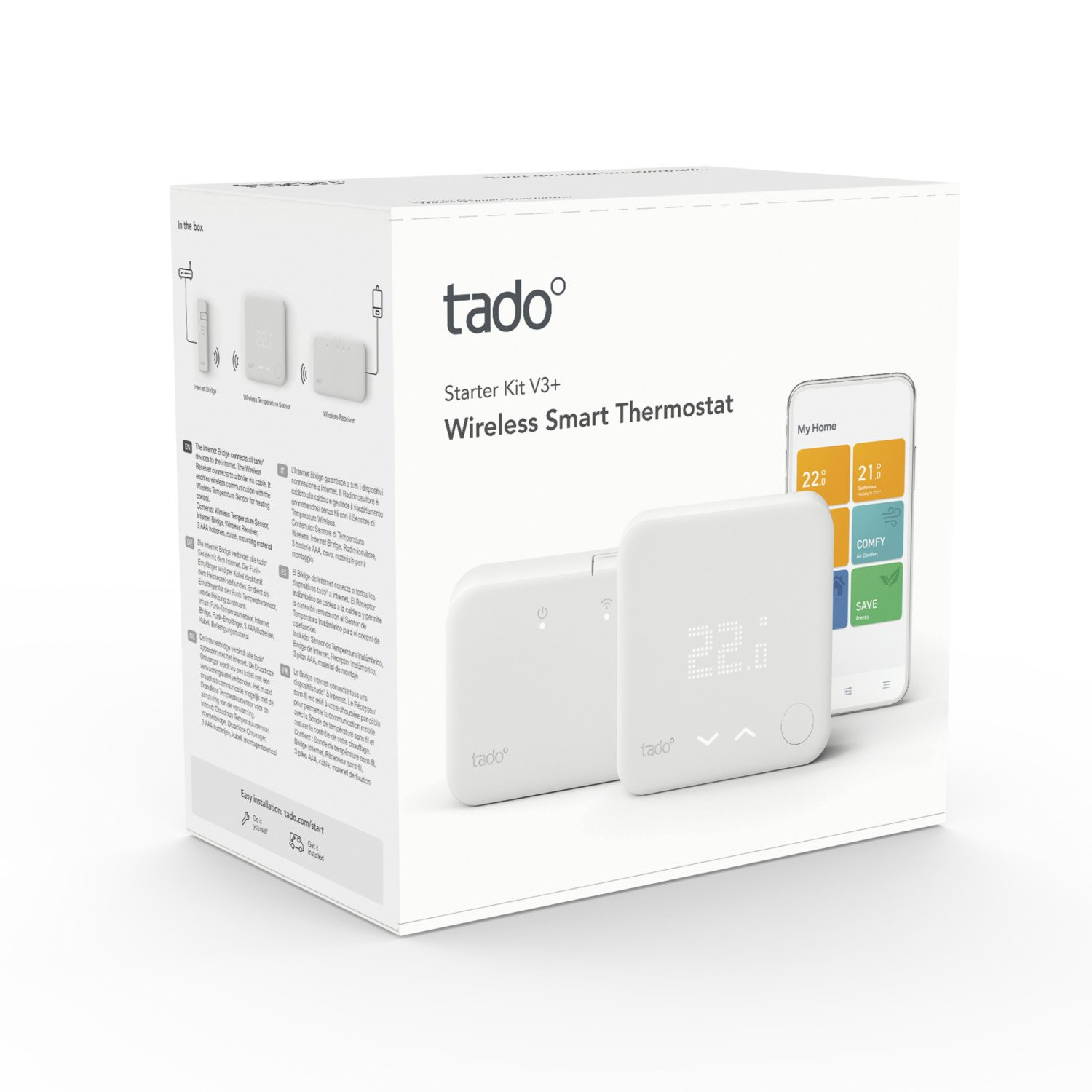 tado Smart Thermostat Starter Kit V3 wireless