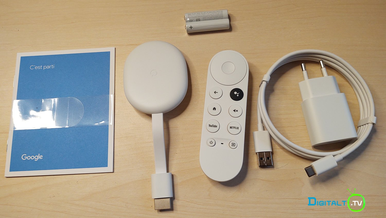 Chromecast Google TV indhold