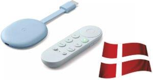 Den nye Chromecast Google TV Danmark