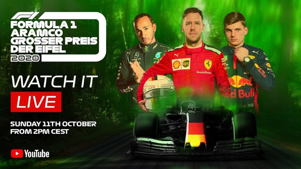 Gratis Formel 1 YouTube
