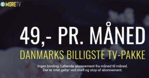 Photo of More TV tilføjer DK4 til sit kanaludbud