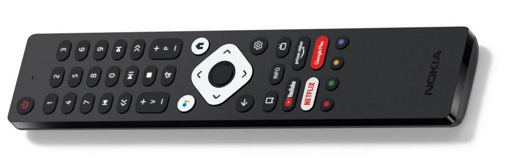 Nokia Android TV fjernbetjeningen