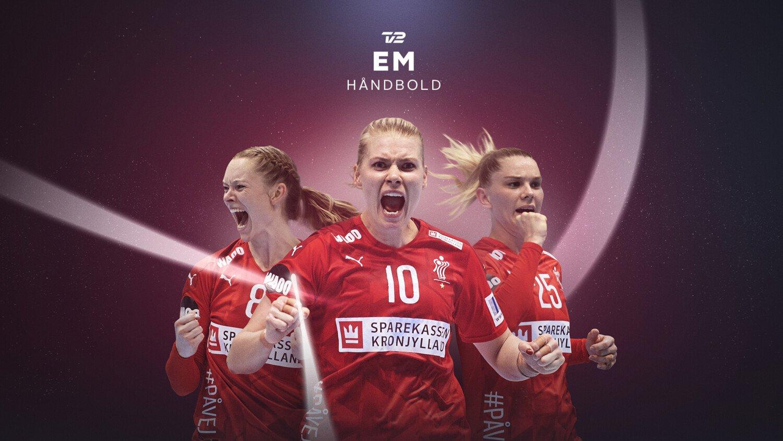 EM i kvindehåndbold 2020 på TV 2, TV 2 SPORT og TV 2 PLAY