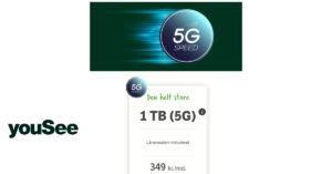YouSee mobilt bredbånd 5G