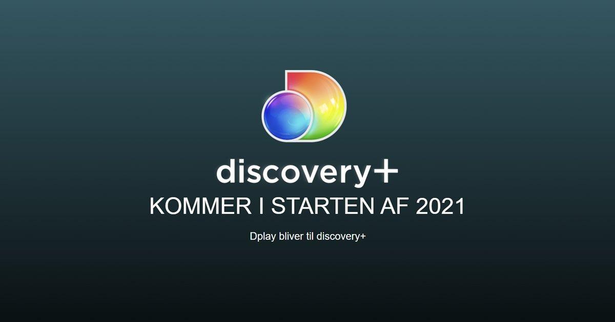 Dplay ændrer navn – discovery+ er det nye navn fra januar