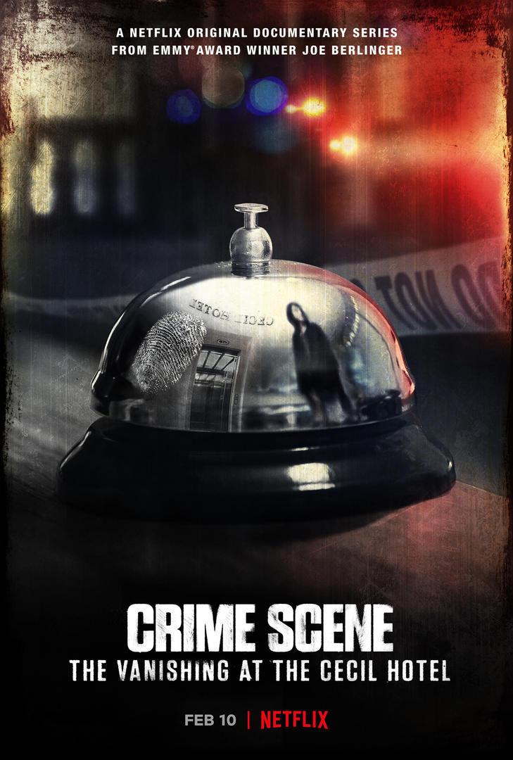 EN US Crime Scene Cecil Hotel S1 Main Vertical 27x40 RGB PRE20210112 3902 18sq3uv