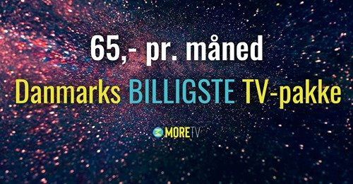 more tv 65 kr