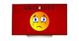 LG OLED TV holdbarhed