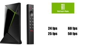 Nvidia Shield TV billedfrekvens frame rate