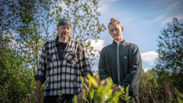 Alene i Vildmarken 2021 Carl og Emil