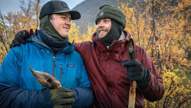 Alene i Vildmarken 2021 Victor og Caspar