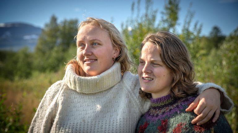 Alene i Vildmarken 2021 Camilla og Martha
