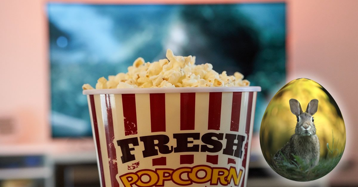 Film TV popcorn påske