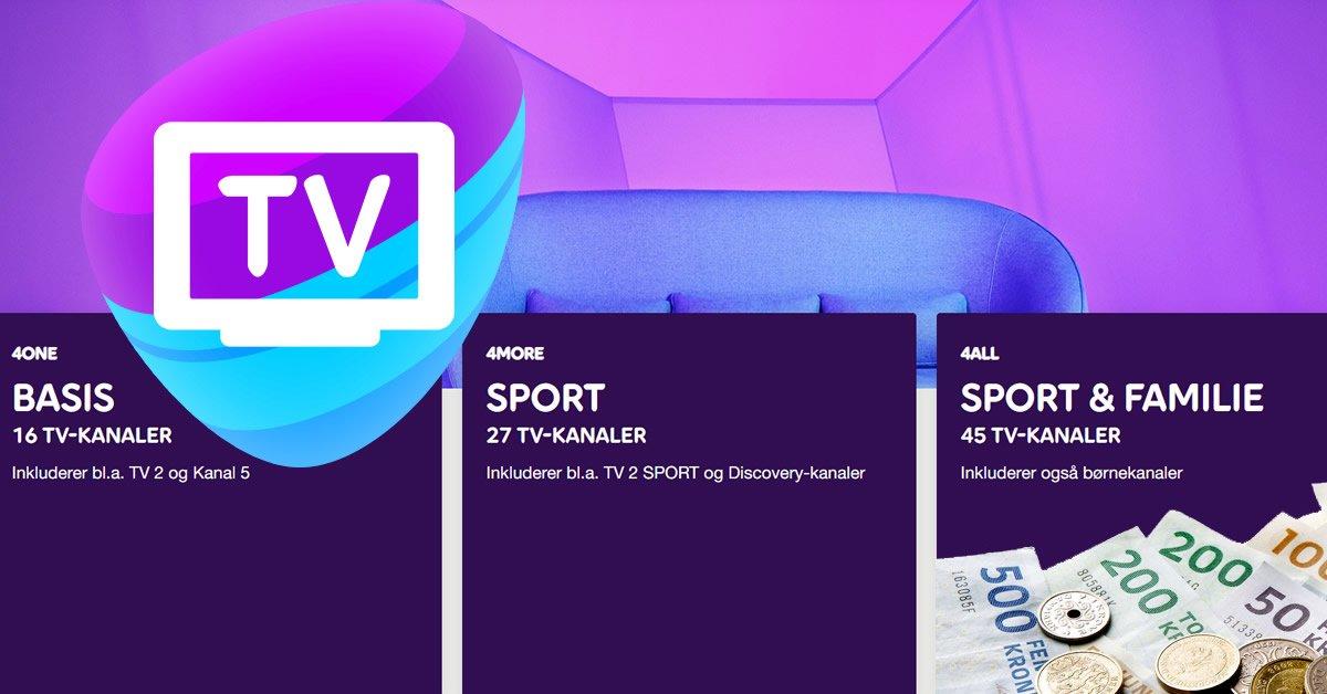 Telia TV priser