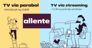 Allente parabol streaming