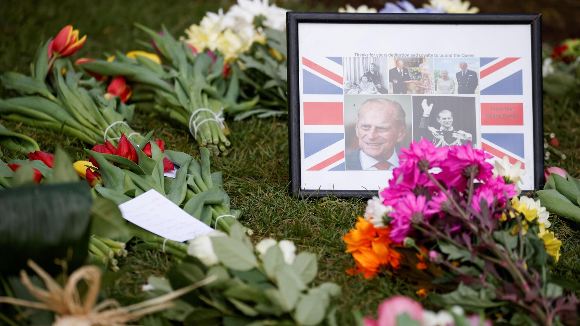 Prins Philip begravelse TV 2