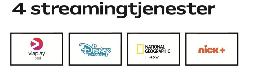 Stream Standard streamingtjenester