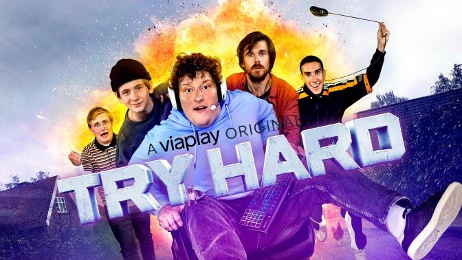 Try Hard  - Ny Viaplay komedieserie om gamer-verden starter 16. maj