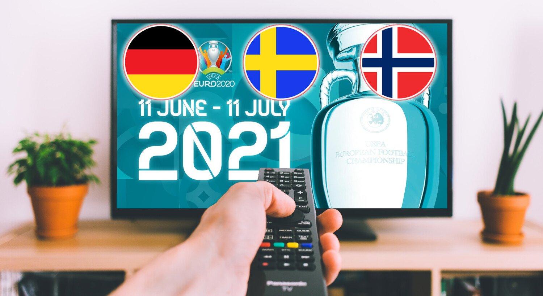 EM 2021 TV Nabolandskanaler