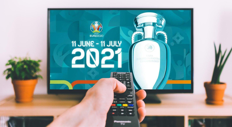 EM 2021 TV Streaming Fodbold Slutrunden