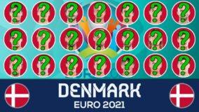 Euro 2021 holdudtagelse