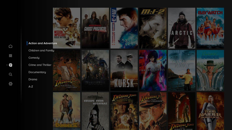 Paramount plus film genrer