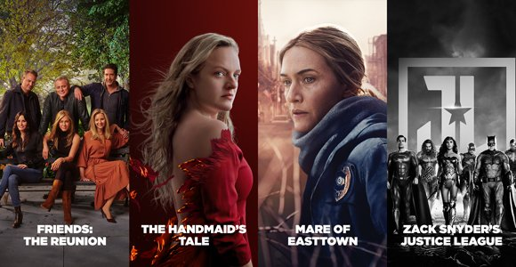 HBO Nordic most watched 2021 1 half