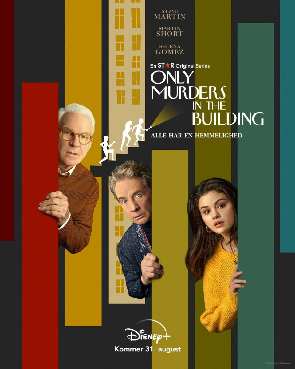 Only murders in the building disney