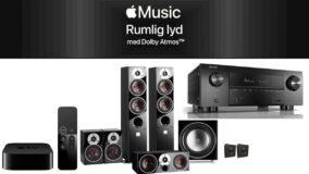 Apple Music Rumlig Lyd Dolby Atmos Apple TV4K
