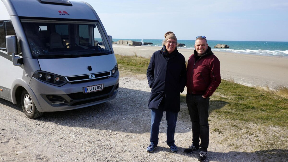Leth og Pilgaard indtager Danmark TV 2 Fri Autocamper