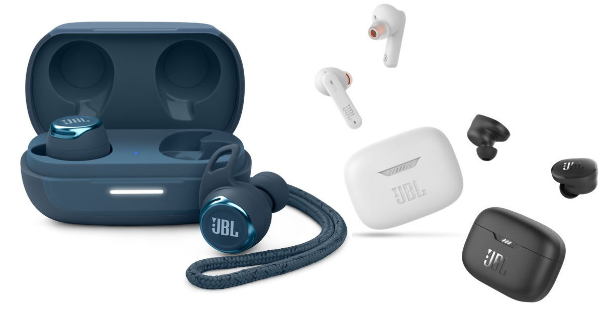 JBL høretelefoner 2021 Reflect Pro Tune 130NC Tune 230NC