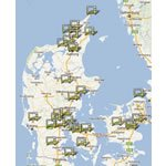 Danske Antenneforeninger oversigt