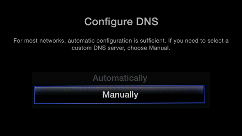 Apple TV DNS opsætning UnoTelly