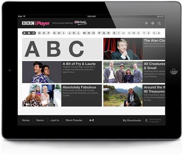 how to get bbc iplayer on ipad