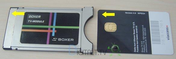 Boxer tv modul kort