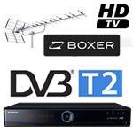 Produktoversigt Boxer HDTV godkendte DVB-T2 bokse