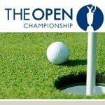 Foto af British Open Golf 2012 på TV