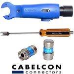 Kabel og f-stik værktøj fra Cabelcon