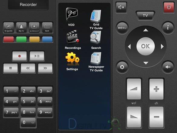 canal digital ios fjernbetjening iPad