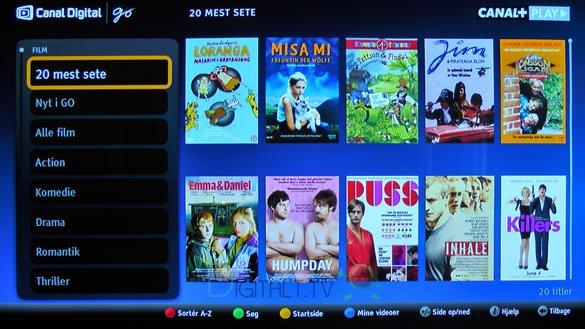 Canal+ Play go on demand Home Entertain Center