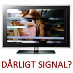 Dårligt tv-signal TV-Signal problemer 800 Mhz