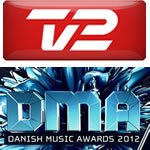 Danish Music Awards 2012 TV 2 Nomineringen