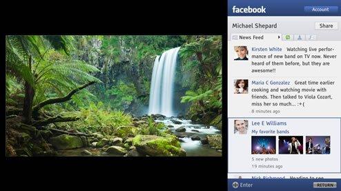 Facebook Sony Bravia