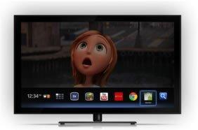 Google TV på LG