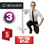 Gratis TV3, Kanal 5 og TV 2 til dig med egen tv-antenne